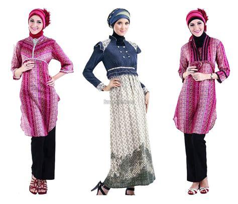Desain Baju Muslim Gambar Busana Muslim Kerja