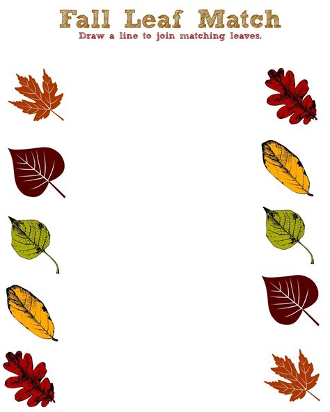 printable leaves for sorting fall fun printables for toddlers annmarie john