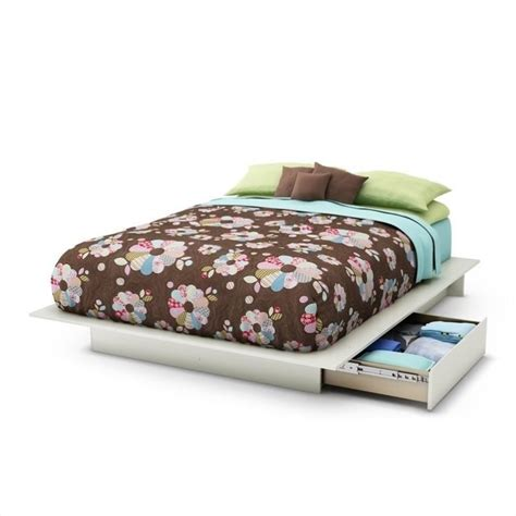 platform bed queen with storage south shore maddox full queen storage platform frame only
