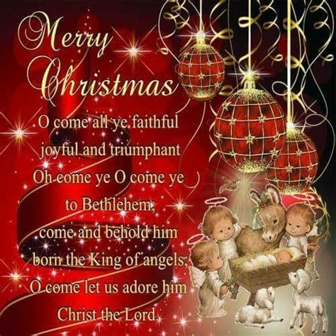 merry christmas    ye faithful joyful  triumphant pictures   images