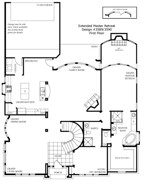 grand homes floor plans ourcozycatcottage