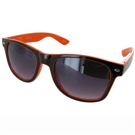 fashion eyewear wayfarer style multi color sunglasses
