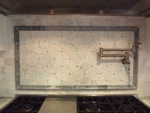 Marble Kitchen Backsplash Design Carrara Marble Backsplash Homesfeed