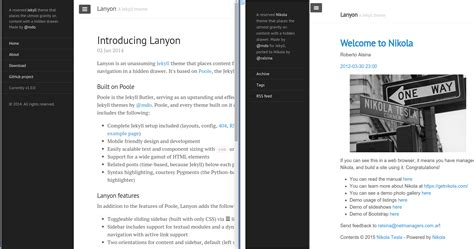 jekyll layout none creating a theme exle nikola website using gitlab pages