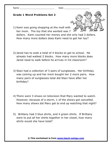 Math Word Problems Grade 2 Worksheets by Math Worksheets 187 2nd Grade Math Worksheets Subtraction
