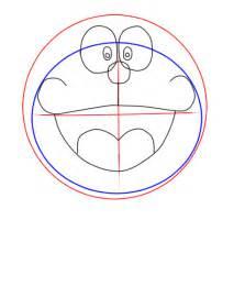 cara menggambar doraemon dengan mudah