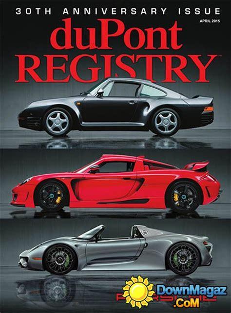 dupont registry autos april