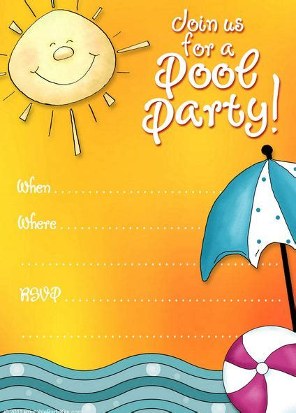 free printable pool party invite template look what i made