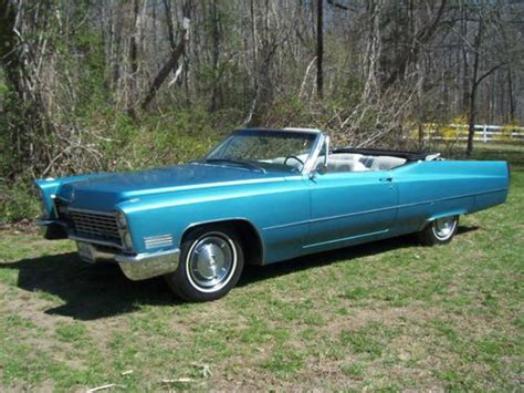 1967 Cadillac Eldorado Convertible For Sale by Purchase Used 1967 Cadillac Convertible Stunning