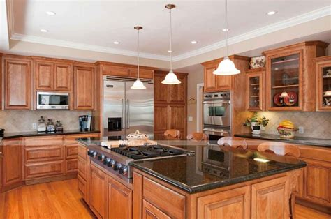 oak kitchen cabinets and granite countertops kitchen cabinet