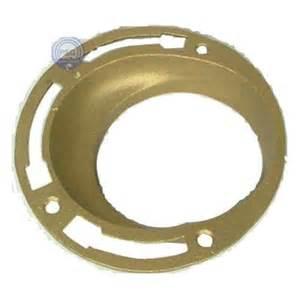 jones 4 in cast brass no hub offset closet flange tff04