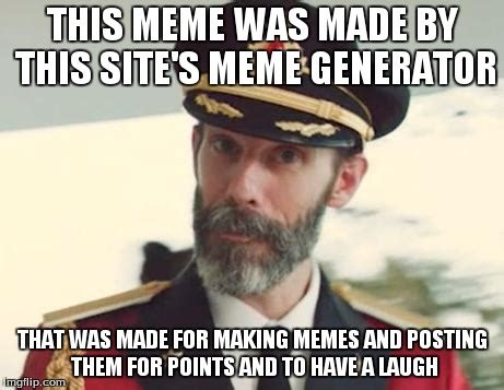 Meme Generator Imgflip - captain obvious imgflip