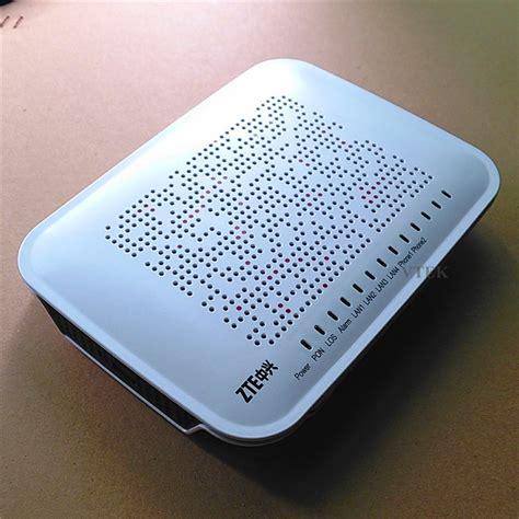 Modem Gpon zte wired ftth gpon ont modem zxa10 f620