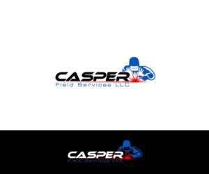 anyone used designcrowd bold playful welding logo design for casper field