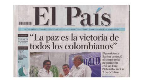 la noticia charlotte edici 243 n 989 la noticia imagenes referentes a la noticia la paz de colombia una