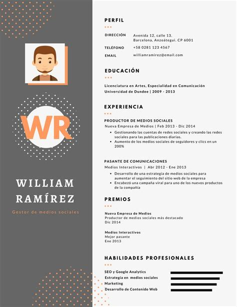 Grupo Modelo Curriculum Web 25 Best Ideas About Modelo Cv On Modelo De Un Curriculum Plantilla Cv And Creative