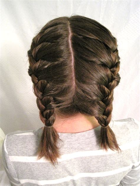 french braided weave two african french braids with weave www imgkid com
