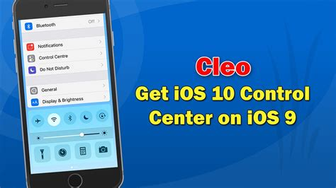 control center themes ios 9 get the ios 10 control center on ios 9 cleo cydia tweak