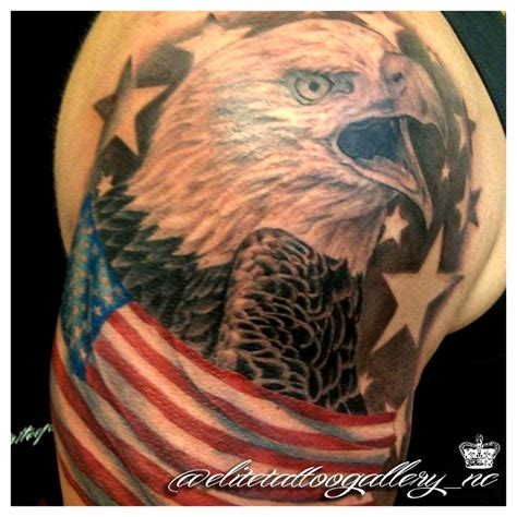 american flag eagle tattoo designs 53 coolest must designs for patriotic 4th july tattoos