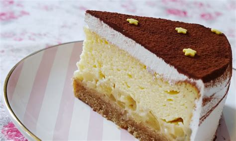 kuchen keksboden ein cremiger apfeltraum k 228 sekuchen mit apfel pudding