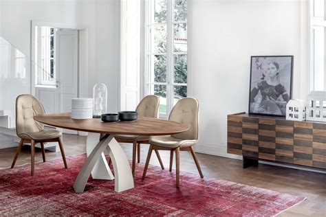 tonin casa eliseo dining tables from tonin casa architonic