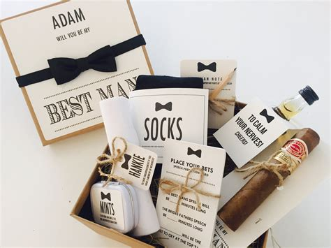 best man gifts personalised will you be my best man gift box with