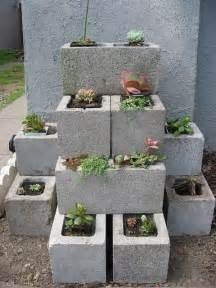 Gardening On Concrete Diy Garden Concrete Blocks Pictures Photos And Images