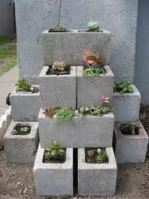 garten beton diy garden concrete blocks pictures photos and images