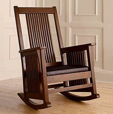 Cushioned Dining Room Chairs Living Room Furniture Mission Furniture Craftsman