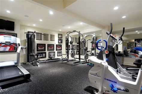 Fitness Room Flooring by Decorate A Home Exercise Room Room Decorating Ideas