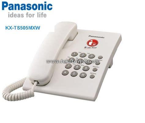 Telephone Single Line Panasonic Kx Ts820mx Asli Dan Bergaransi jual panasonic single line telephone kx ts505mx