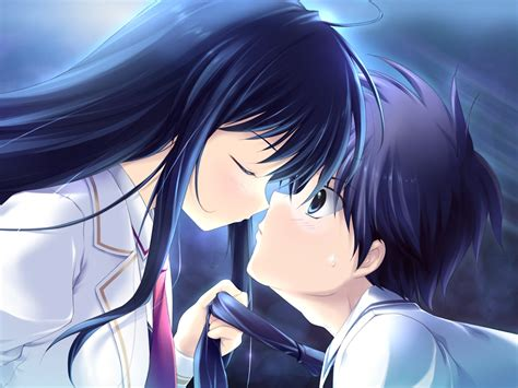 brownish blavk hair with a coiple of blue braids for 10year olds anime black hair and black eyes romantic love wallpaper