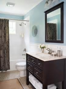 Blue And Brown Bathroom » Home Design 2017