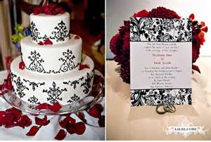 Red black amp white theme ideas weddings style and decor planning