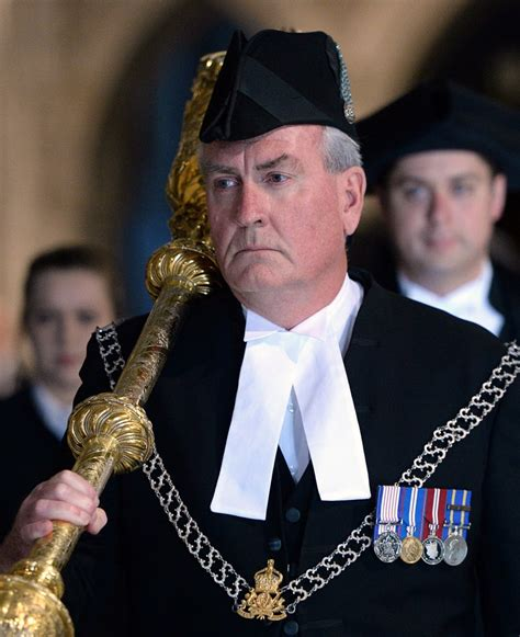 house sergeant at arms sergeant at arms kevin vickers receives standing ovation in the house of commons