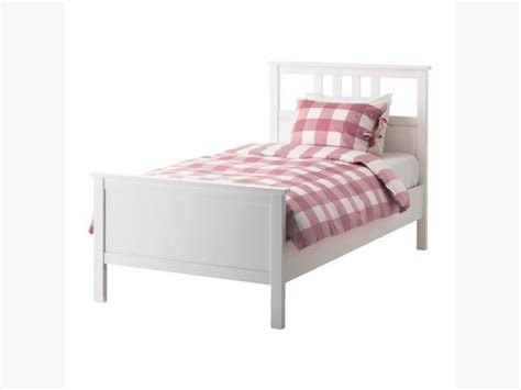 ikea pine bed ikea hemnes white pine twin bed west shore langford