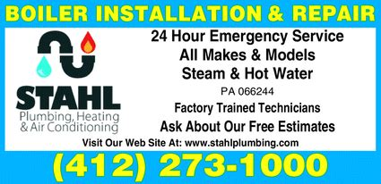 stahl plumbing heating air conditioning swissvale pa