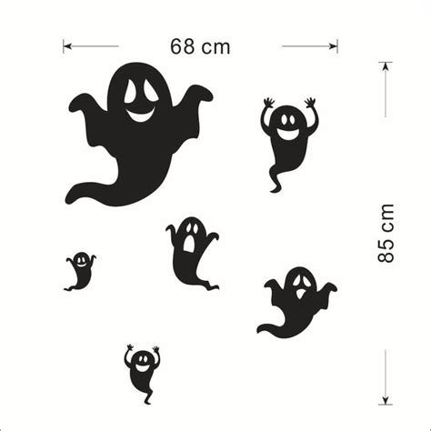 printable halloween decorations black and white deco halloween