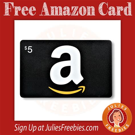 free amazon gift card julie s freebies - Get Free Amazon Gift Cards Iphone