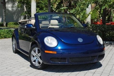 sell   volkswagen  beetle convertible package  heated seats power top alloy