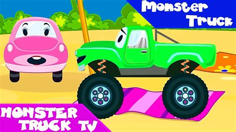 video truck monster monster truck monster trucks cars cartoon trucks for