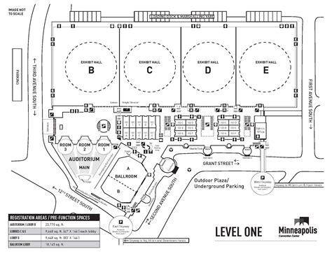 minneapolis convention center floor plan minneapolis convention center smart meetings