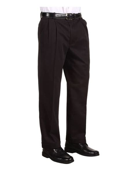 dockers comfort waist khaki d3 classic fit pleated in