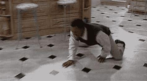 carlton sliding across floor gif archie yates