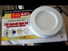 costco led lights how to install the costco led retrofit light kit