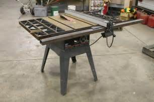 lot 1044ss craftsman 10 quot belt drive table saw 3hp