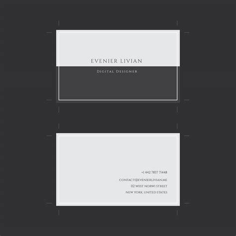 Minimalist Business Cards Free Downloads Templates by Minimal Business Card Template