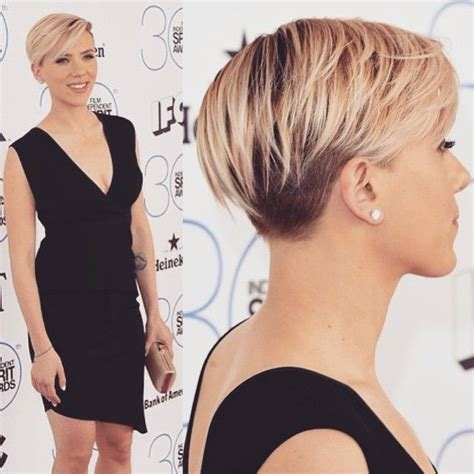 scarlett johansen extreme hircut top 100 scarlett johansson short hair photos here s a