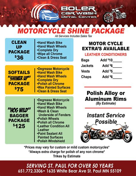 boat detailing danbury ct motorcycle detailing packages boler car wash