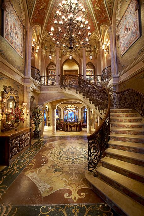 Texas Chateau Home Decor by Opulent 33 000 Square Foot Oceanfront Mega Mansion In